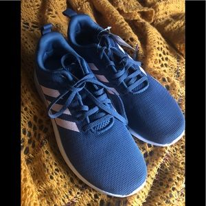 NWT Adidas lite racer size 7.5 Women's Blue Pink